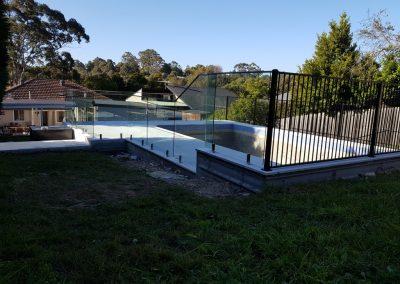 Aluminium Flat Top Fencing sydney