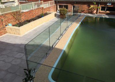 Frameless Glass Pool Fencing sydney