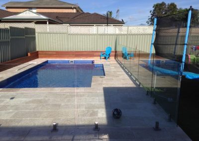 Pool Fence Glass